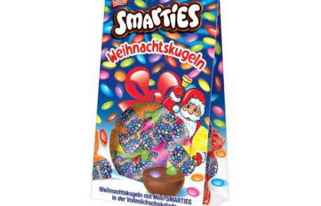 smarties christmas chocolate candy imported from germany shipping from usa